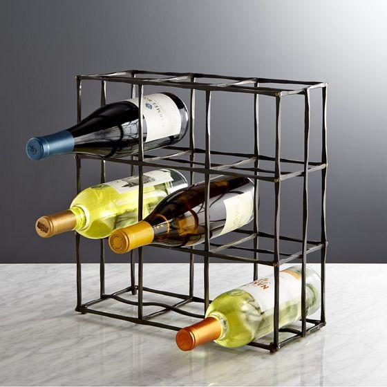 Almacenamiento de cocina for Estantes para vinos