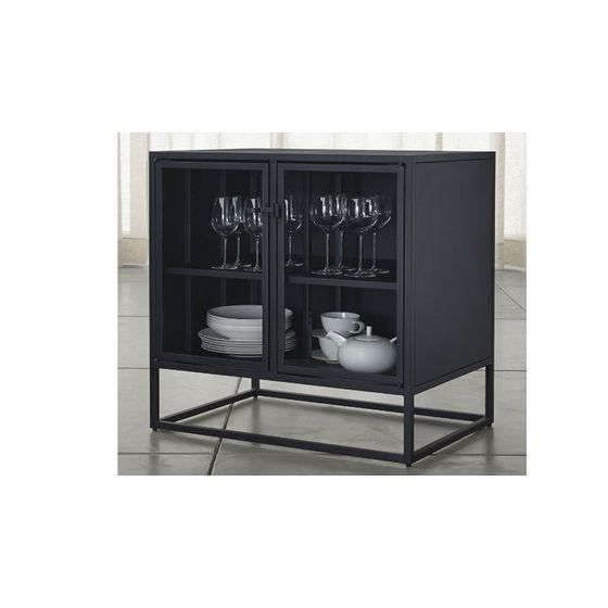 Aparador pequeno negro casement em muebles muebles de for Muebles comedor pequeno