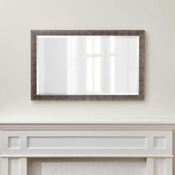 Espejos for Espejo rectangular plateado