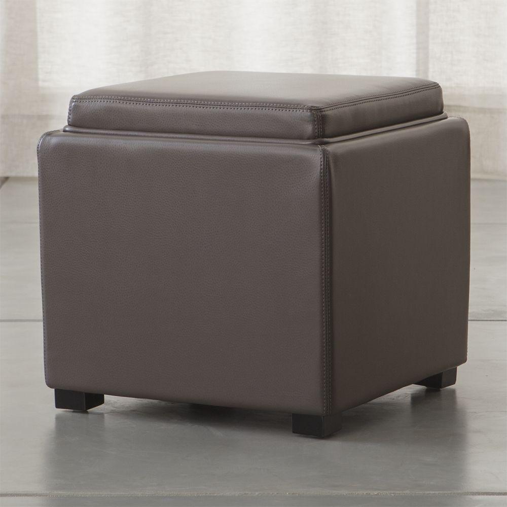 Cuero em Muebles - Muebles de Sala - Otomanes & Puffs – cratebarrelpe