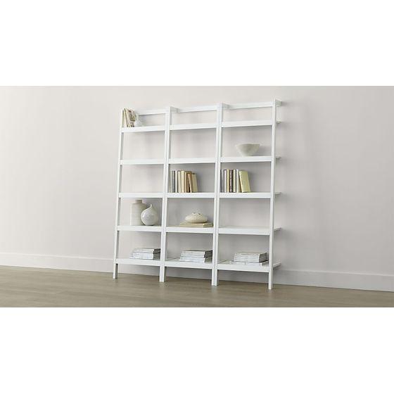 Juego-de-3-Libreros-Inclinados-de-62cm-Sawyer-Blanco