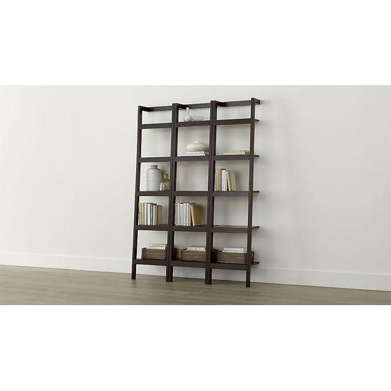 Juego-de-3-Libreros-Inclinados-de-46cm-Sawyer-Moka