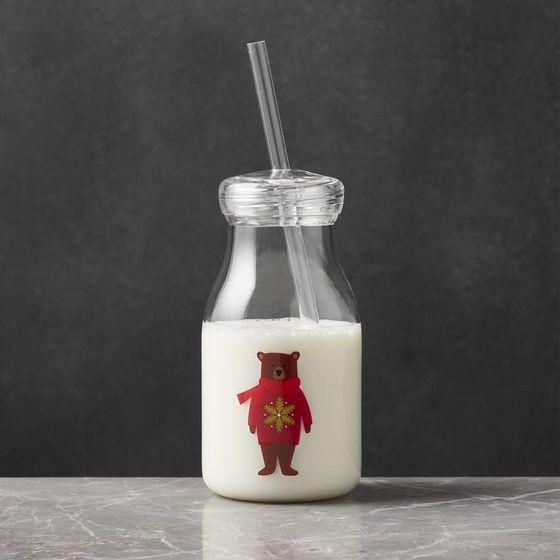 Botella-para-Leche-de-Acrilico-Holiday-Bear-107